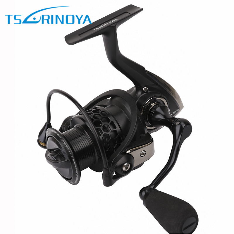 Tsurinoya Spinning Fishing Reel 9BB/ 5.2:1 Full Metal 2000-5000Size Ocean Boat Lure Reels Carretes Pesca Molinete Fishing Wheel tsurinoya tsp2000 spinning fishing reel with spare spool 11 1bb 5 2 1 full metal jig boat lure reels carretes pesca molinete