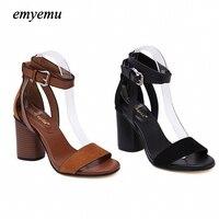 קיץ כפכפים נשים סנדלי נשים סנדלי אצבע של נועלת סנדלי העקב עבה נעלי נשים טריז פלטפורמת נעלי גלדיאטור סגנון קוריאני נעל