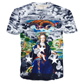 2016 Men's T Shirt Fashion Women 3D Christ Jesus and Madonna Printed Tee Unisex Summer Short Sleeve Brand-clothing Free Shipping