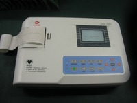 Digital Single Channel ECG / EKG Machine with Printer and Paper and USB Software 100G, CE and FDA approved