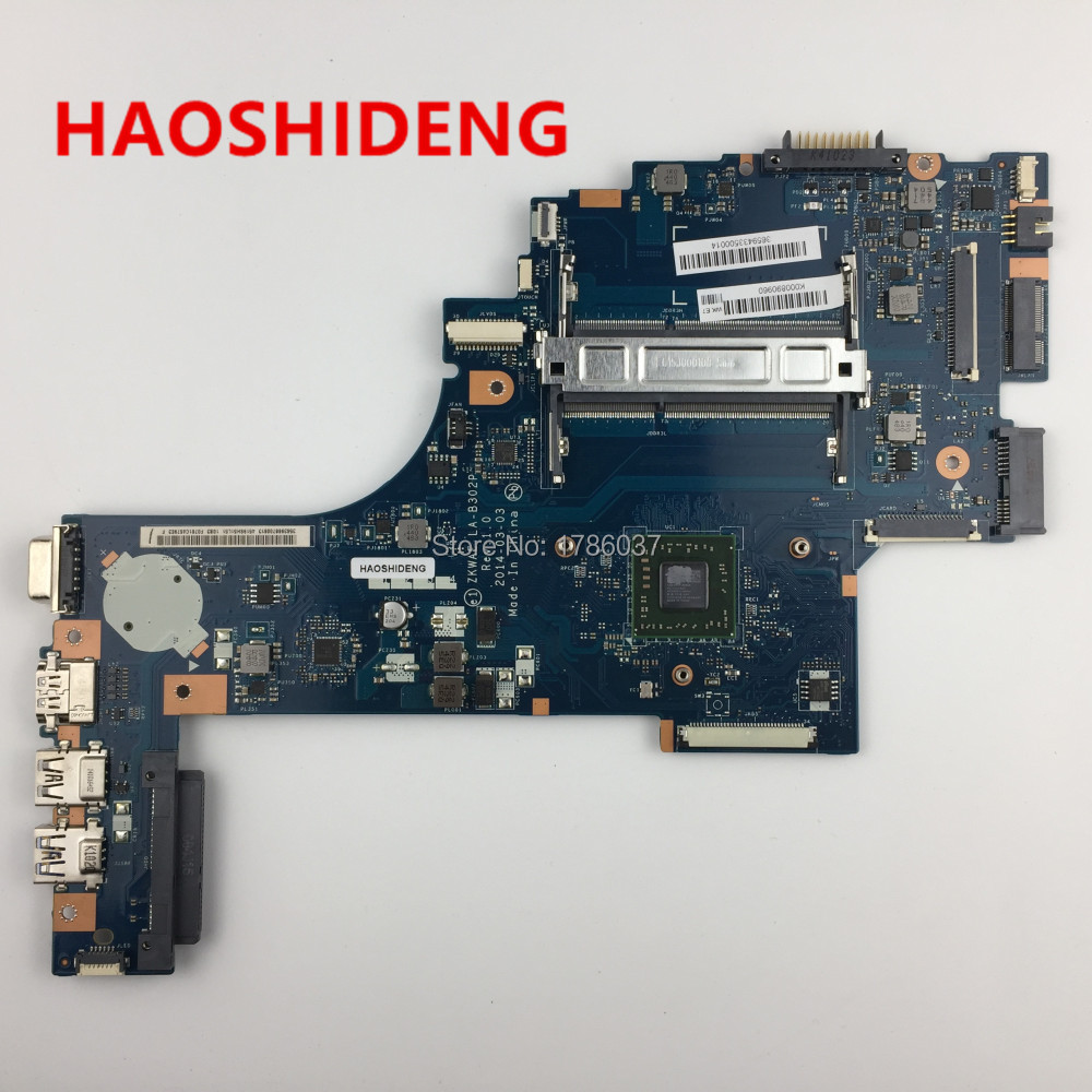 K000890960 LA-B302P For TOSHIBA Satellite C50 C55 C50D C55D C55D-B5219 Motherboard with A6-6310,All functions fully Tested!