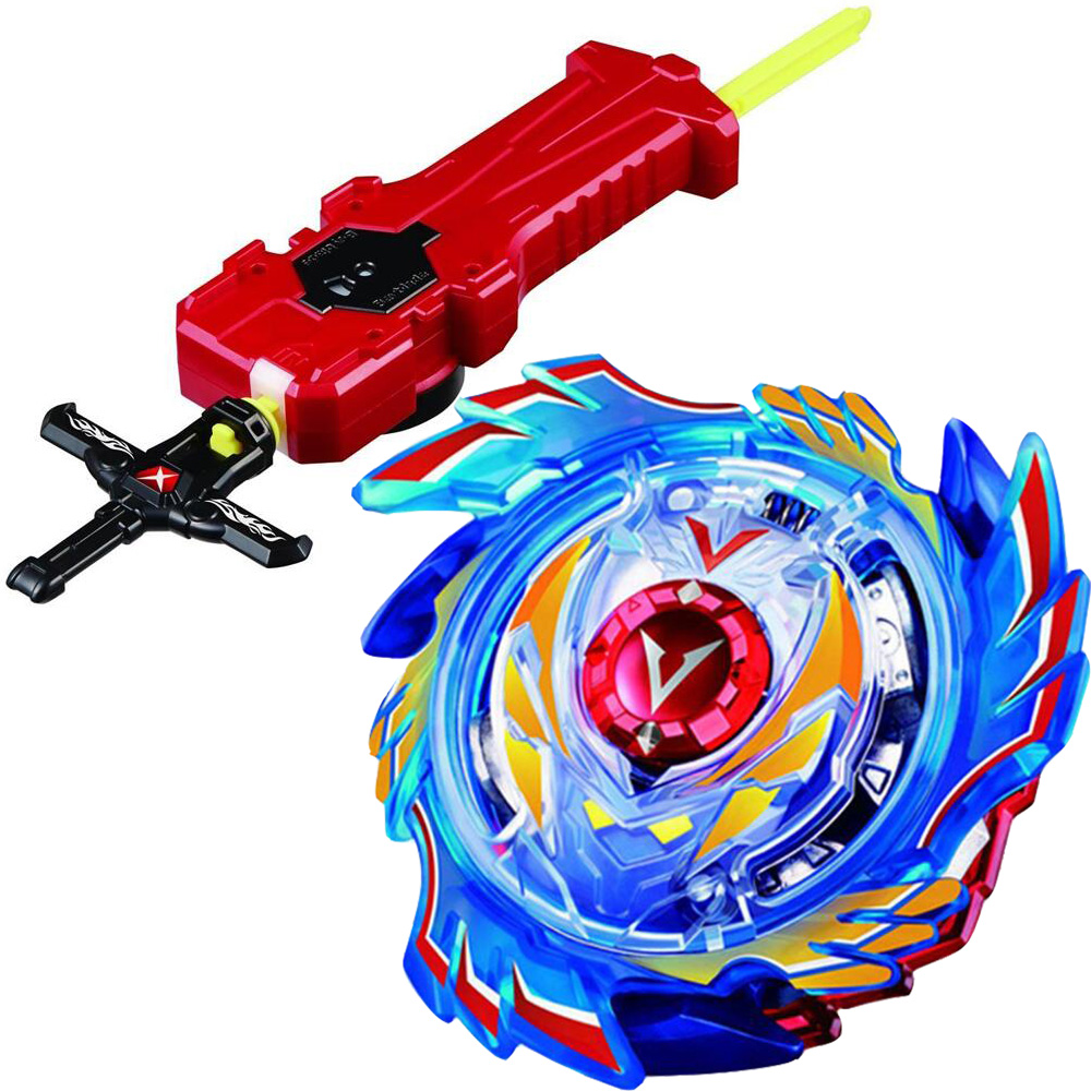 God Valkyrie Valtryek Spinning Top Burst Starter w/ Launcher B73 With Sword Launcher Factory Supply Toys Children Gift(China)