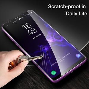 Image 5 - FLOVEME Protector de pantalla de cobertura completa para Samsung Galaxy S10, S8, S9, S10 Plus, S10e, Note 8, 9, 3D, película protectora suave curva, no cristal