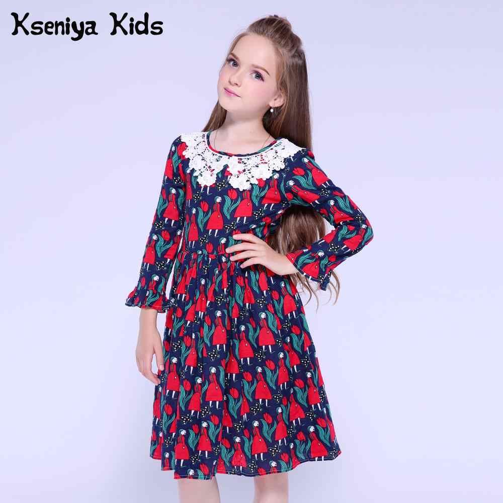 87d6d2513ff46 Detail Feedback Questions about Kseniya Kids Girls Dress Long Sleeve ...