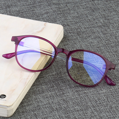Blue Light Filter Computer Glasses Anti Radiation UV400 Clear Lens Eyeglasses Vintage Retro Round Frame Eyewear For Men Women