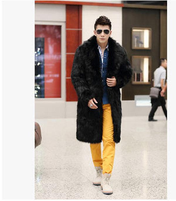 Hommes Outwear Vison Couleurs Mode marron De Beige Plus La Occasionnel Célèbre 4 S 3xl Nouvelle Fourrure Faux Marque Veste noir Taille Manteau J447 Slim dxQoWrCeB