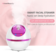 Facial Steamer Nano Ionic Hot&Cool Steam Professional Spa Home Sauna Pores Cleanser Portable Steaming Device