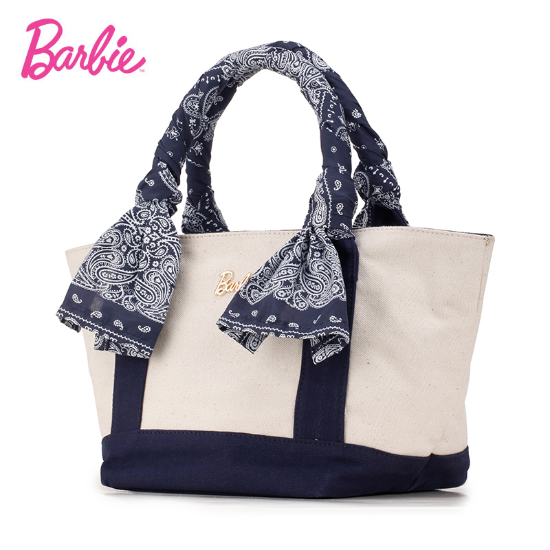 Barbie Women handbags Bags red color women Female Bag Outskirts series of fashion printing hand-hit color canvas handba bags handbags women digital printing beautiful floral canvas shoulder bags bag female