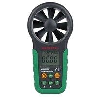 MasTech MS6252B Kỹ Thuật Số Máy Đo Gió Air Velocity Meter Đo Tốc Độ Gió Tools với Nhiệt Độ Độ Ẩm Sensor