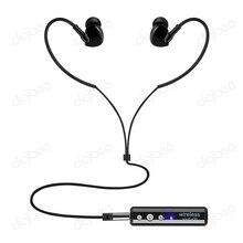 Noise Concelling Esporte Som Estéreo de 3.5mm Com Fio Sem Fio de Alta Fidelidade Fone De Ouvido Clip Bluetooth Fone de Ouvido Com Microfone para iPhone X 5 6 7 8 além de