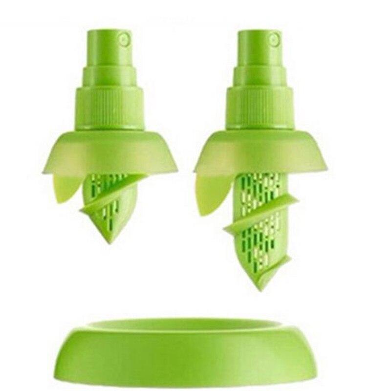 New Kitchen Accessories Lemon Juice Sprayer Fruit Citrus Spray Mini Squeezer Hand Juicer Cooking Tool Supplies