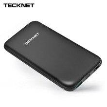 TeckNet 10000 2600mah のパワー銀行 TYPE C ポータブル外部バッテリーパック mi cro USB リチウムポリマー充電器 iphone シャオ mi mi