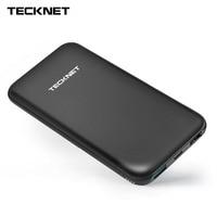 TeckNet BLUETEK Power Bank 10000mah TYPE C Portable External Battery Pack Micro USB Lithium Polymer Charger