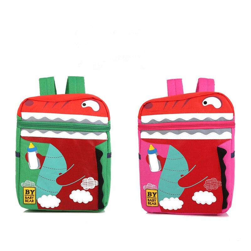 Dinosaur Cartoon backpack Children schoolbag Kids baby Bag Kindergarten  Backpacks School Bags for girls mochila escolar plecak-in School Bags from  Luggage ... 5f5b8a1d8e