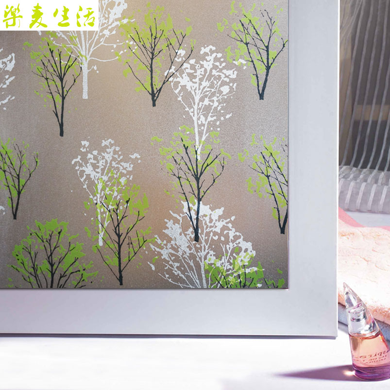 2017 Privacy Etched 3d Painting window film frosted Static Cling decorative window  sticker for home decor. Online Get Cheap Frosted Static Cling Window Film  Aliexpress com