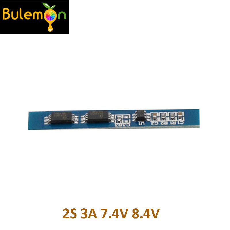 5pcs/lot <font><b>2S</b></font> 3A Li-ion Lithium <font><b>Battery</b></font> 7.4 8.4V <font><b>18650</b></font> Charger Protection Board BMS PCM for Li-ion Lipo <font><b>Battery</b></font> Cell <font><b>Pack</b></font> image