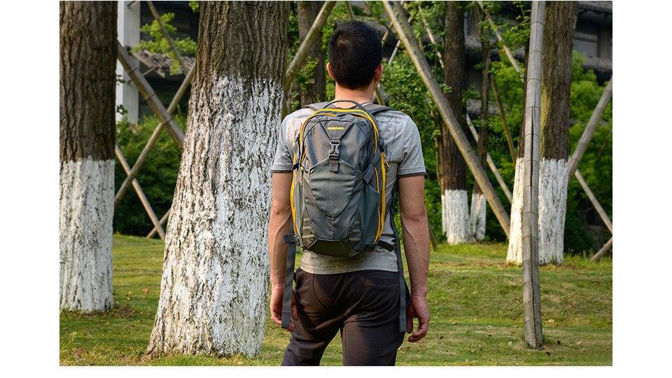 mochila de viagem ao ar livre à