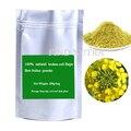 O envio gratuito de 100% de qualidade alimentar Natural puro Estupro pólen de Abelha em pó quebrado-celular 200 g/saco