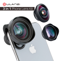 Smartphone Mobile Wide angle lens with CPL filter 238 Degree Fisheye Lens 2X Telephoto Lens for iPhone X XS Max Samsung Huawei