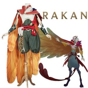 Image 1 - Маскарадный костюм LOL RAKAN The Charmer, маскарадный костюм, косплей ONSEN