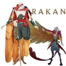 Oyun LOL RAKAN en Charmer Cosplay kostüm fantezi kostüm COSPLAYONSEN