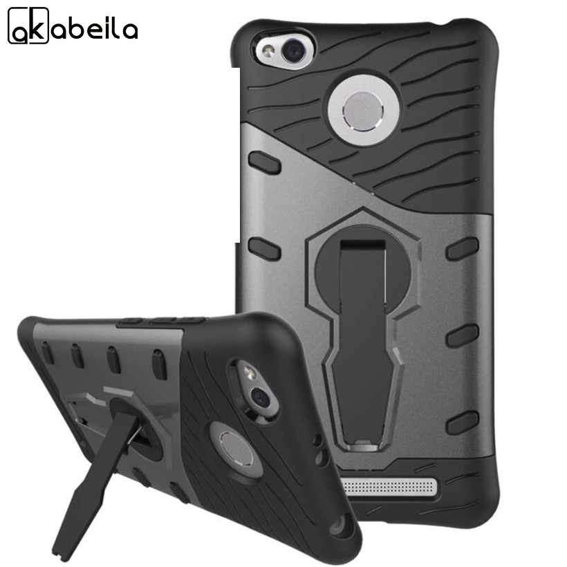 AKABEILA 2 in 1 TPU Silicone Cases For Xiaomi Redmi 3S 3 S Cases Redmi 3 Pro Housing Shell Covers Durable Shell Hood Bag