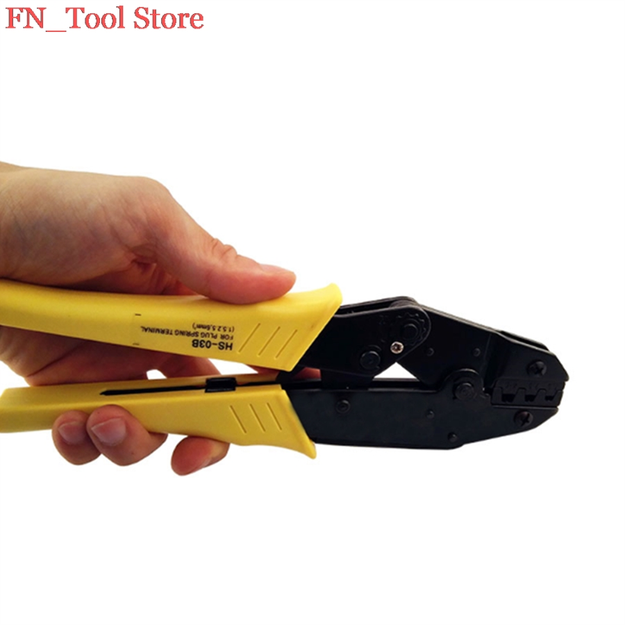 FASEN <font><b>HS</b></font>-<font><b>03B</b></font> wire stripper crimping tool crimping plier 1.5-6mm2 multi tool tools hands pliers image