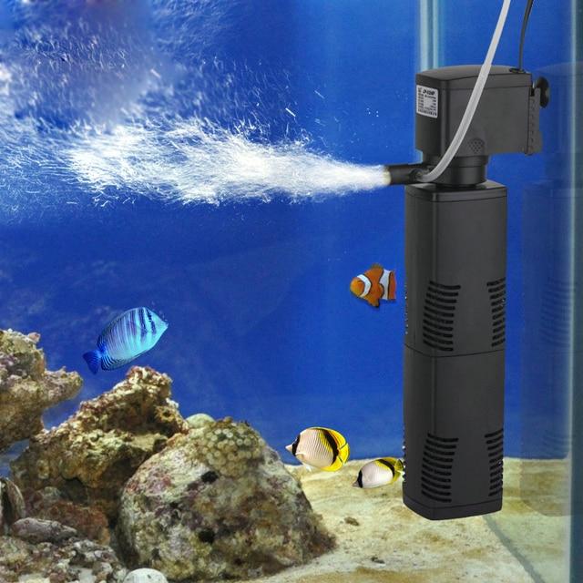 Fish Air Cleaner : Fish tank filter built in mute water pump three