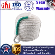 1/2″x100′   1.2CM x  30 M Twisted Three Strand Nylon Anchor Rope Boat with Thimble
