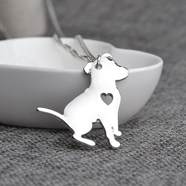 Pit bull necklace pitbull dog pendant pet puppy necklaces pendants pit bull necklace pitbull dog pendant pet puppy necklaces pendants delicate women necklace animal charms aloadofball Gallery