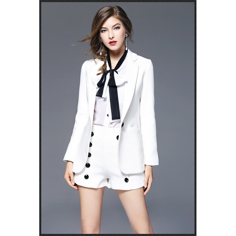 New Hot Stylish And Comfortable Women S Blazers White Color Slim