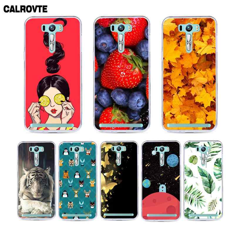 CALROVTE Luxury Phone Cover For Asus Zenfone Selfie ZD551KL ZD ZD551 551 551KL KL 5.5 inch Silicone Soft TPU Back Case Covers