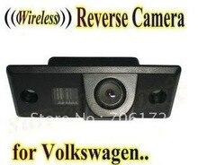 INALÁMBRICO para Coche Cámara de visión trasera cámara de reserva de marcha atrás para Volkswagen TIGUAN TOUAREG SANTANA POLO PORSCHE CAYENNE SKODA FABIA
