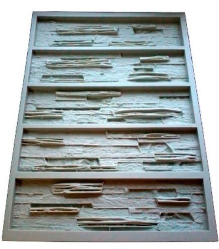 polyur thane moules pour b ton pl tre mur de pierre. Black Bedroom Furniture Sets. Home Design Ideas