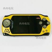 Cor amarela Frete Grátis handheld game console portátil do jogo de vídeo construído em 105 jogos grátis