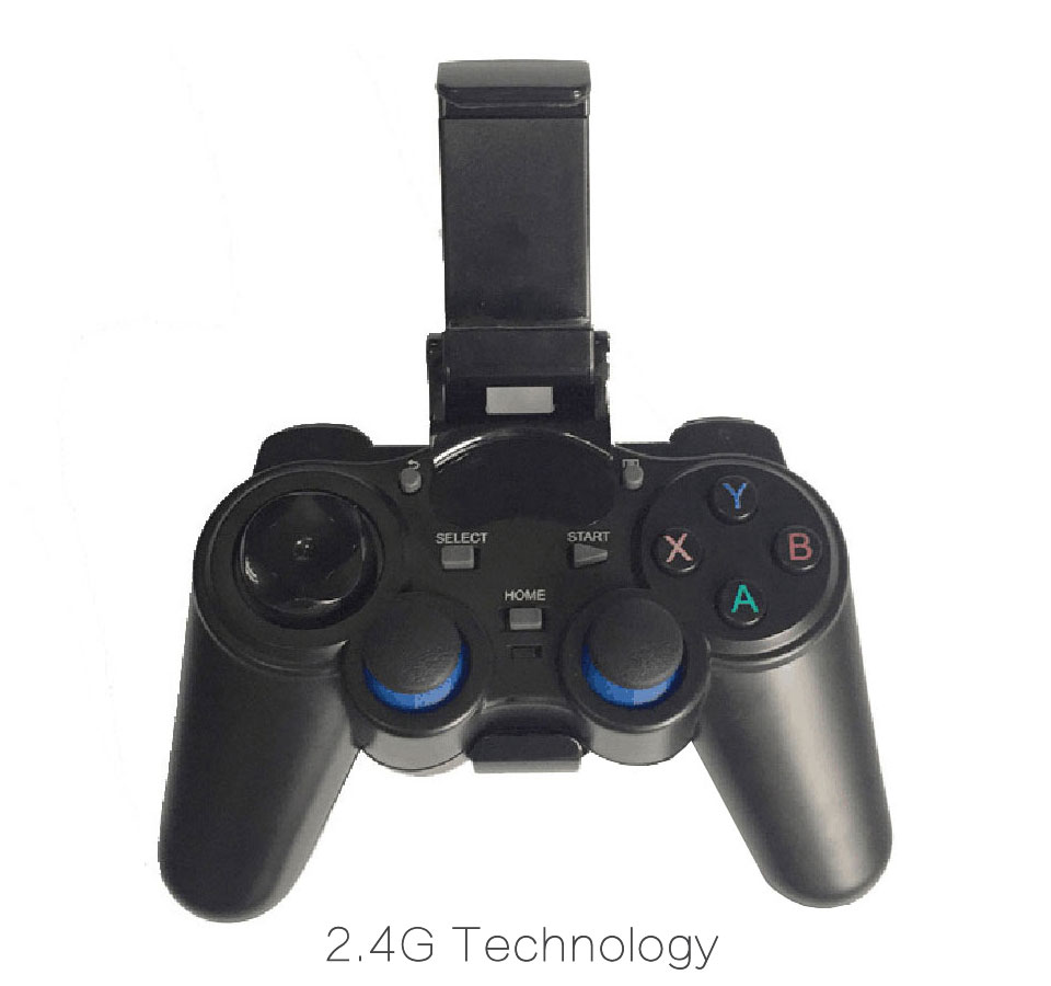 50pcs 2.4G Wireless Game Controller Gamepad Joystick mini keyboard remoter for universal TV box