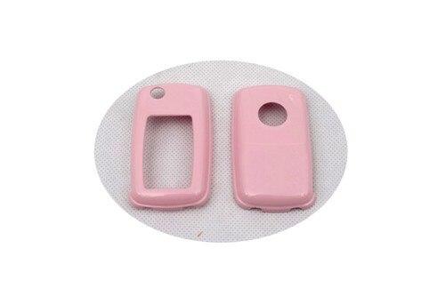 Жесткий Пластик БЕСКЛЮЧЕВОЙ дистанционный ключ защитный кожух(блеск) для Фольксваген MK4/MK5