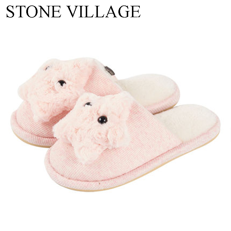 Women Slippers Home Shoes Warm Winter Slippers Girls Ladies For House Bedroom Comfortable Cotton  Indoor Flats Plus Size 36-45 4 pack high quality toner cartridge for konica minolta bizhub c224 c284 c364 compatible tn321 bk c y m full