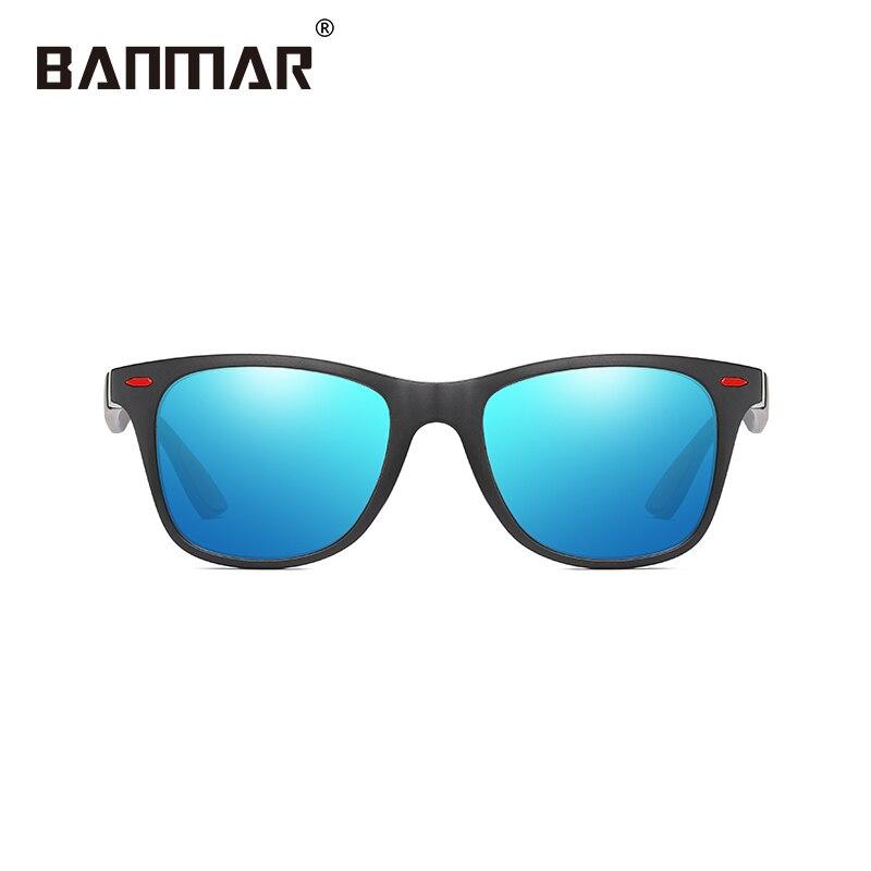 BANMAR Brand Design Classic Polarized Sunglasses Men Women Driving Square Frame Sun Glasses Male Goggle UV400 Gafas De Sol Shade 4