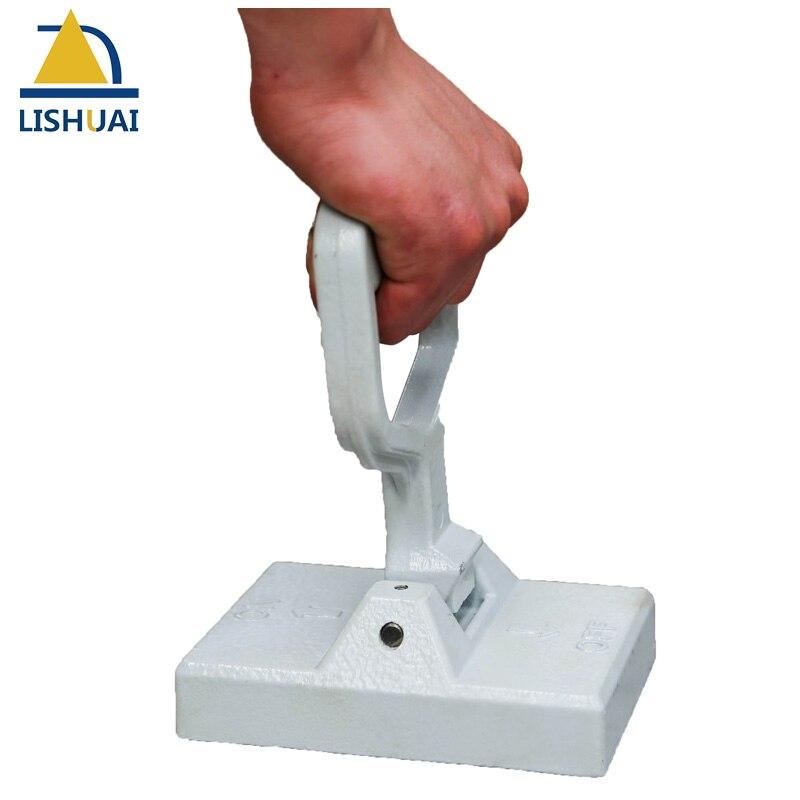 Портативный 50 кг постоянного магнитного lifter/Неодимовый магнит для подъема Сталь пластины