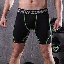 df99e6c25 Los hombres pantalones cortos de compresión capa base de mens Deportes  Fútbol fitness gimnasio directo de