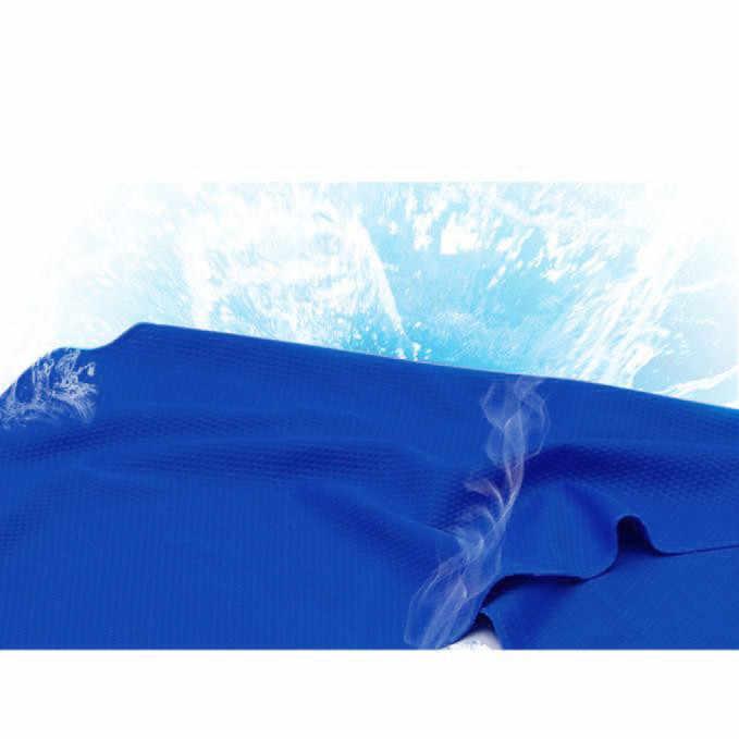 ความรู้สึกเย็นผ้าเช็ดตัวชายหาดผ้าขนหนูกีฬาว่ายน้ำผ้าเช็ดตัวผ้าขนหนูเสื่อโยคะ Serviette de plage ผ้าเช็ดตัวใหม่