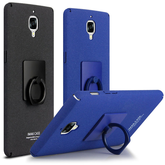 sale retailer 02ddc f679d US $6.99 |Oneplus 3 Case 100% IMAK Back Cover For One Plus Three Mobile  phone Ring Holder Stand Full Protection Free Shipping on Aliexpress.com |  ...