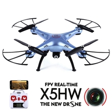 Syma X5HW WiFi FPV Flips Function RTF RC 360 Degree 3D Gyro Quadcopter Drone 2.4G 4CH RC 6 Axis With 0.3MP HD Camera