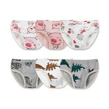 f549970ea 3 piezas lindo bebé recién nacido Ropa interior de Bebé Ropa interior  establece cerdo impresión niño