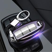 Прокат ключевые чехол Брелок для Nissan Qashqai J10 J11 X-Trail t31 t32 ногами Tiida Pathfinder Мурано Примечание Juke Infiniti аксессуары