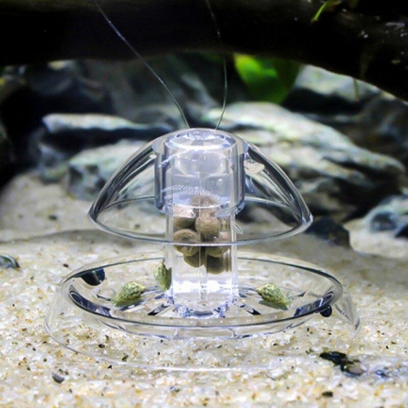 8 Hole Snail Trap Transparent Leech Catch Tool Aquarium Cleaner Tool Pest Catch Big Clearance Sale Fish & Aquariums Cleaning & Maintenance
