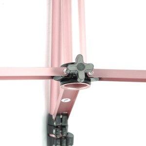 Image 5 - Tripé para treinamento de rosas, cabeça manequim para cabeça e bloco de lona, tripé com liga de alumínio, estável forte