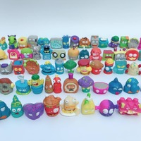 100pcs/lot Cartoon Anime Action Figures Garbage Moose Toy Grossery Gang Model Vinyl Dolls Kids Christmas Gift Toys for Children