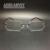 Homens óculos de armação óculos sem aro ópticos grife prescrição titanium liga leve de negócio considerável especial 5200